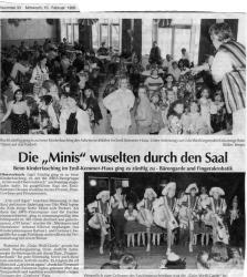 EMK Kinderfasching 1999