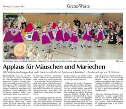 AWO Kinderfasching 14.01.2018