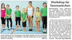 Tanzworkshop Coburg