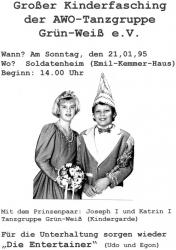 Kinderfasching 1995