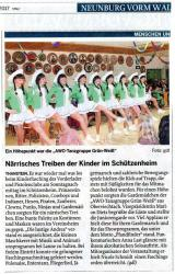 Thanstein Kinderfasching