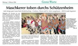 Kinderfasching Thanstein