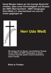 In tiefer Trauer 11.08.2020